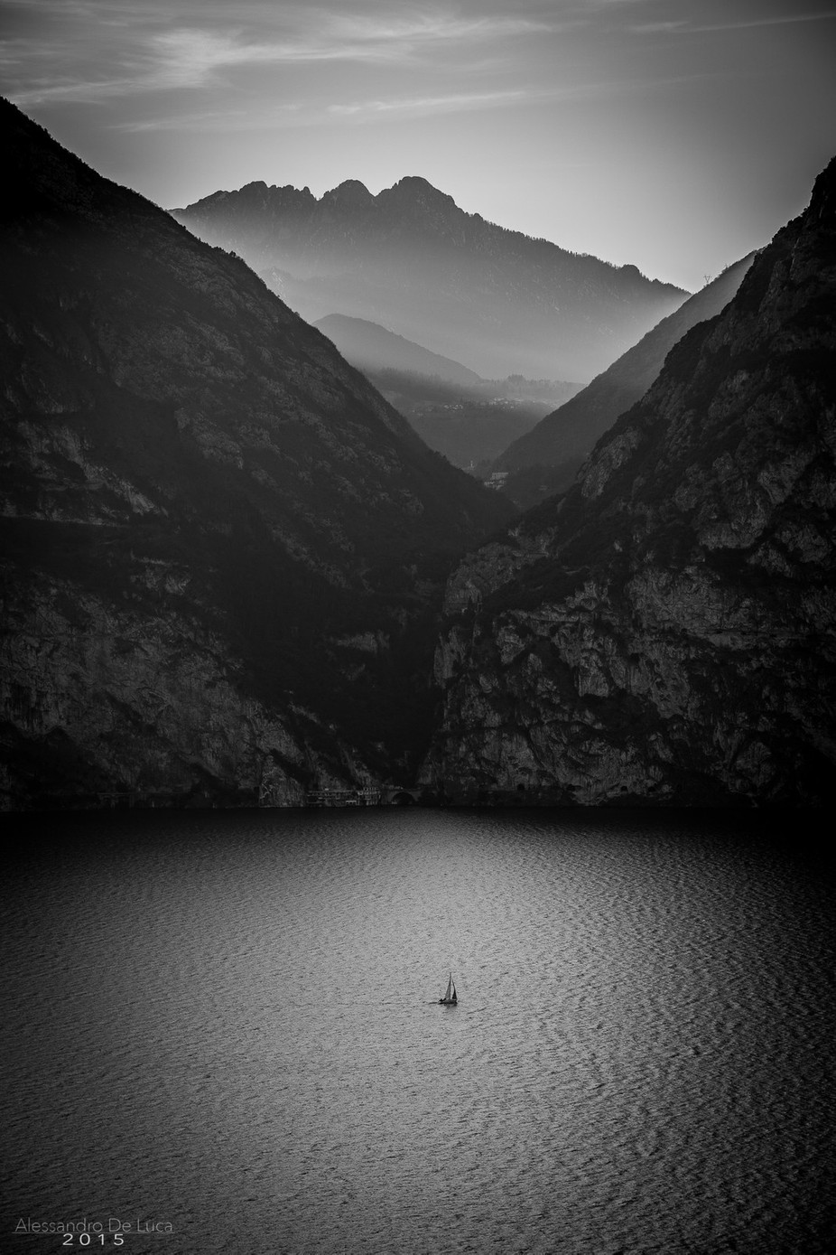 Feeling small ... but capable of great things! by AlessandroDeLuca - Black And White Landscapes Photo Contest