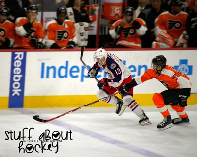 Stuff I Love About Hockey . . . The Race For The Puck