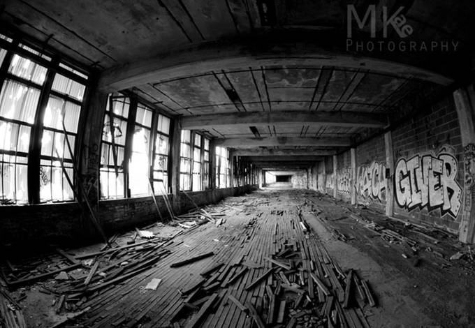 The Packard Plant_12 by MKaePhotography - Warehouses Photo Contest