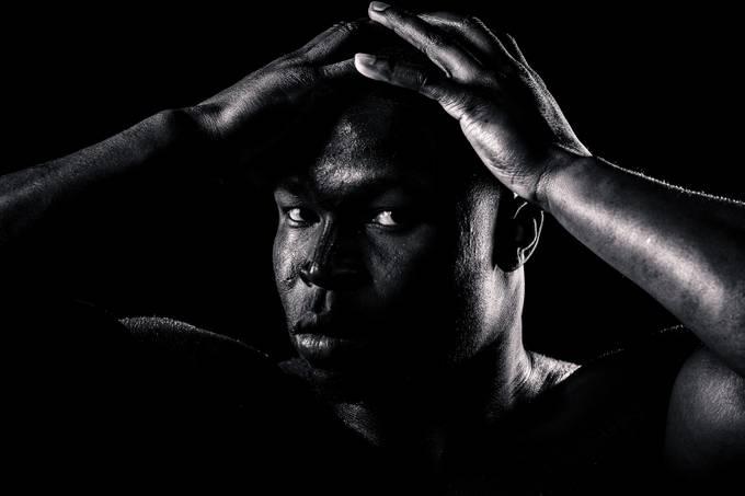 Contemplation by vickiyeates - Dark Portraits Photo Contest