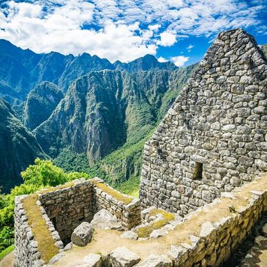 another view inside machu picchu ancient city