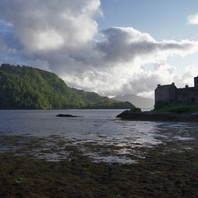 Eilean Donan Castle on the Isle of Skye.  One of the locations used in the film 'Highlander'