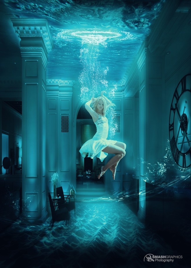 Underwater_Levitation by Smashgraphics - Creative Reality Photo Contest
