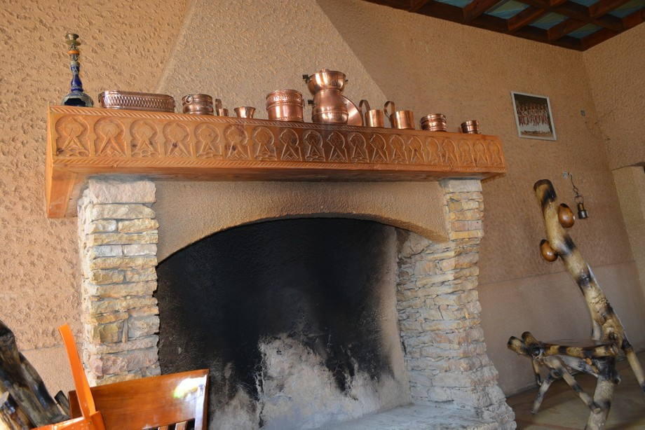 A Fireplace in Morroco - To Be precise In The Middle of Sahara Desert..Where We Camped or Rather ...
