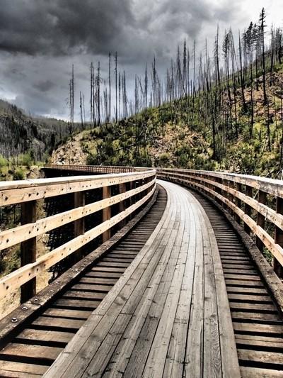 Myra Canyon Trestles 2012