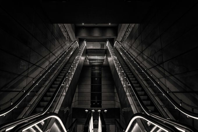 COPENHAGEN Subway Station by ardilla - Stairways Photo Contest
