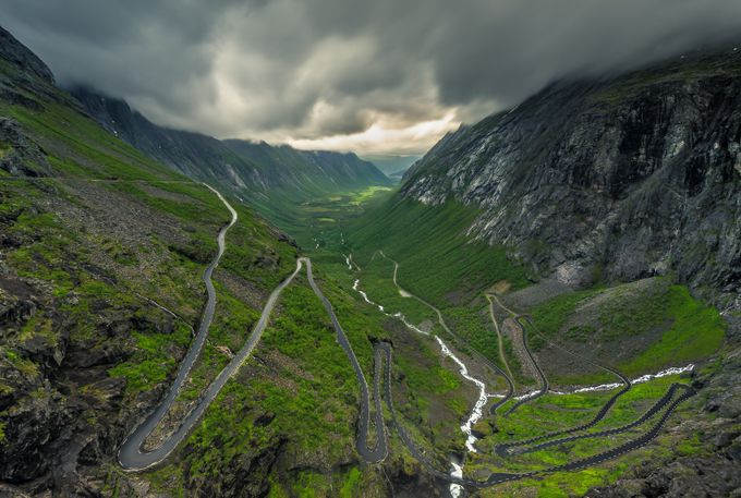 Troll Bends by peterfoldiak - Composing with Curves Photo Contest