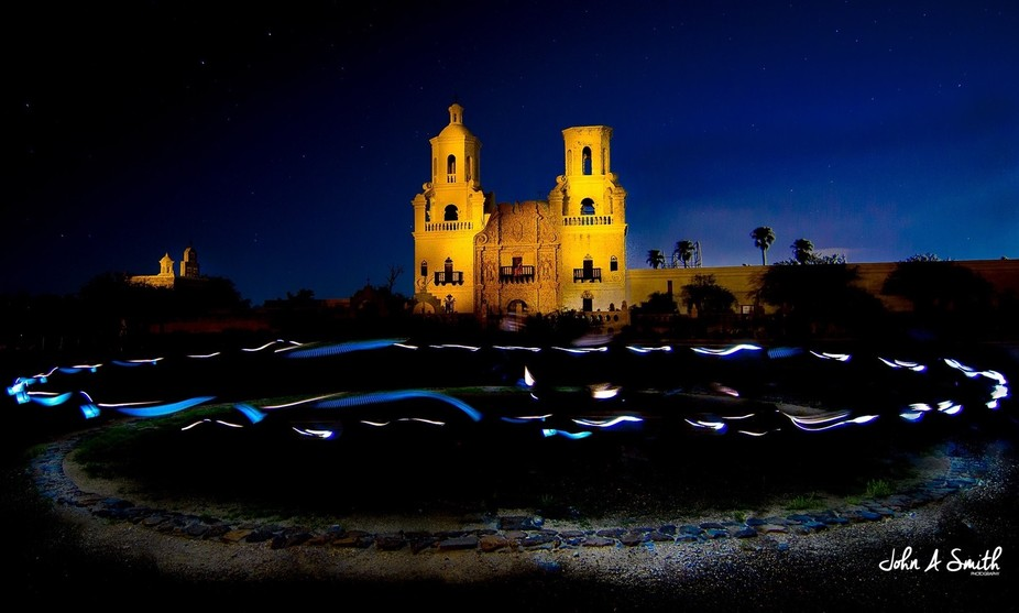 This is the San Xavier del Bac mission near Tucson, AZ. When something has been photographed bill...