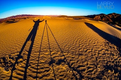 Death Valley Shadows