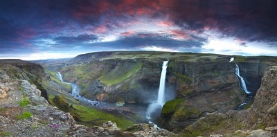 Pano of Magical Waterfall