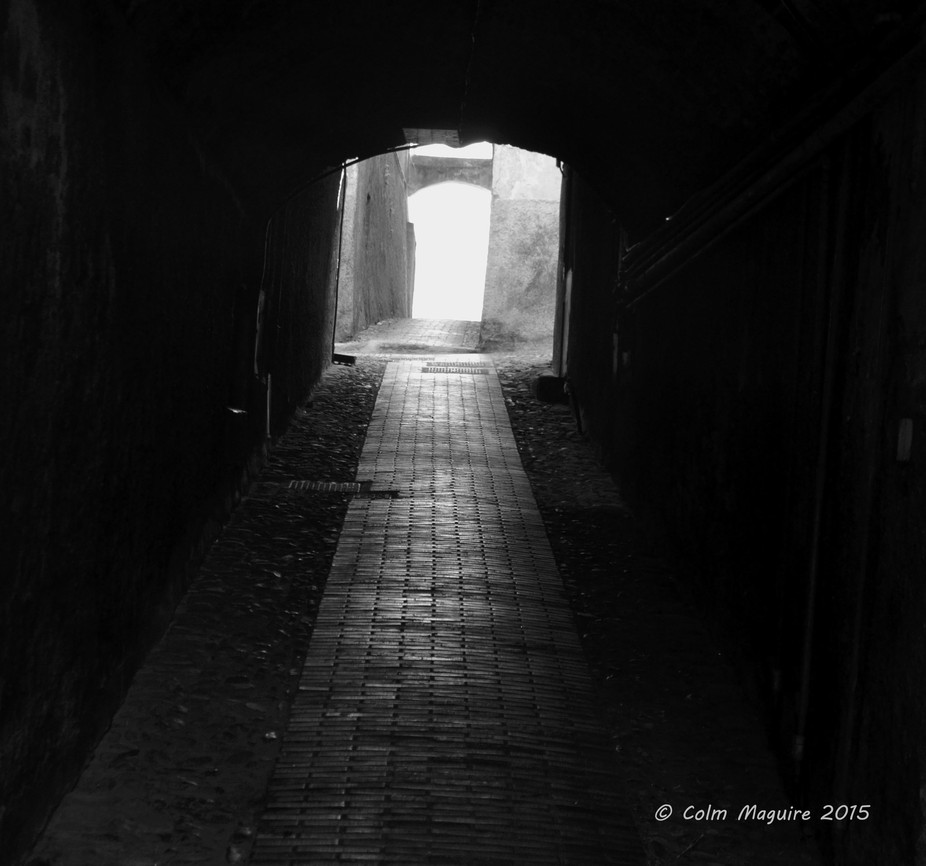 Is it a Freudian thing that tunnels fascinate me? Or a religious thing?
