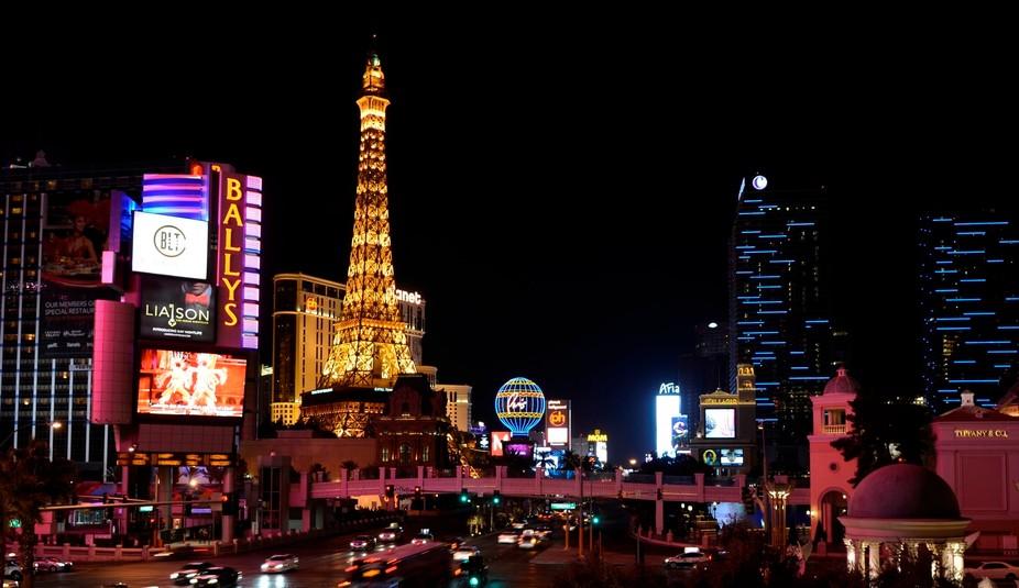 My amazing night in Las Vegas