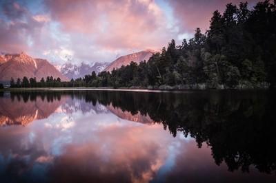 Sunset Reflections at Lake Matherson