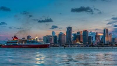 Cruise ship and Miami