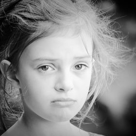 Tamzin on her 3rd photo shoot trying out her different expressions. This was her sad face.