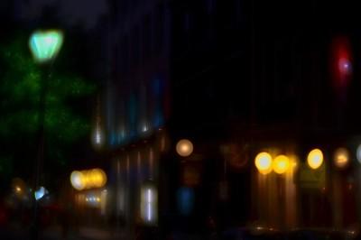 Midnight on Bourbon Street