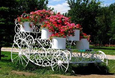 floral brougham