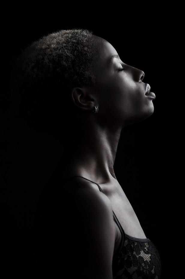 Dark Portrait by benjaminyoud - Dark Portraits Photo Contest