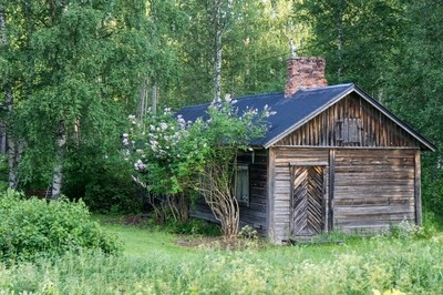 Old house in northern Finland