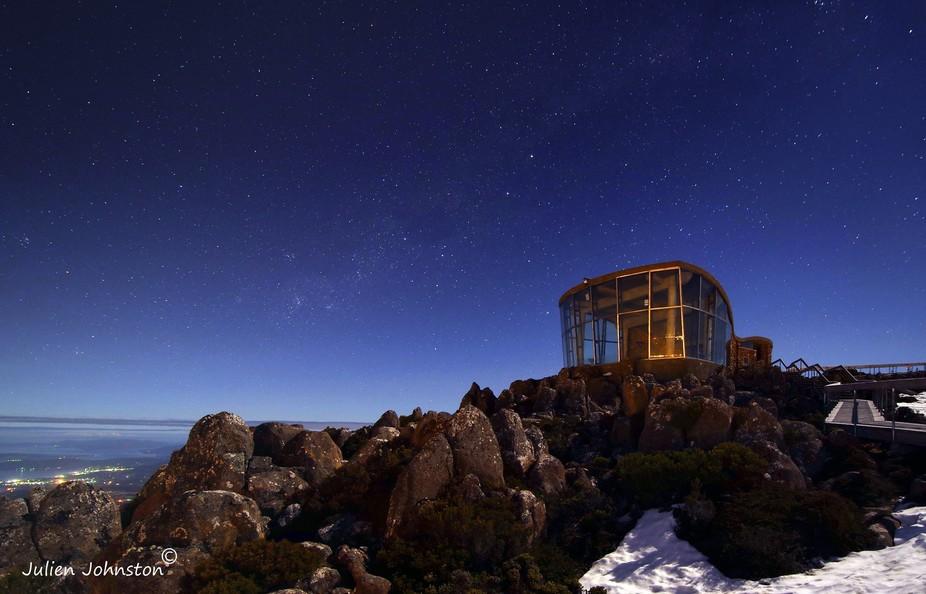Mt Wellington Observation Deck