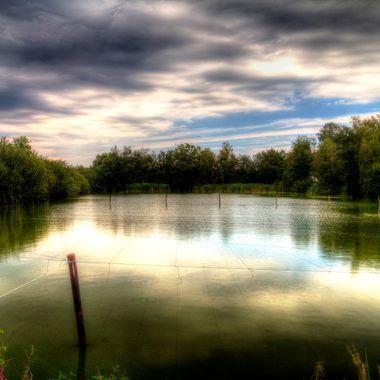 Beautiful Lake in Zolder-Limburg-Belgium