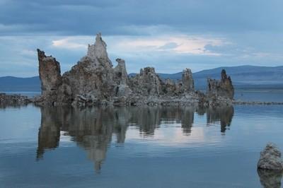 Tufa Reflected on Mono Lake