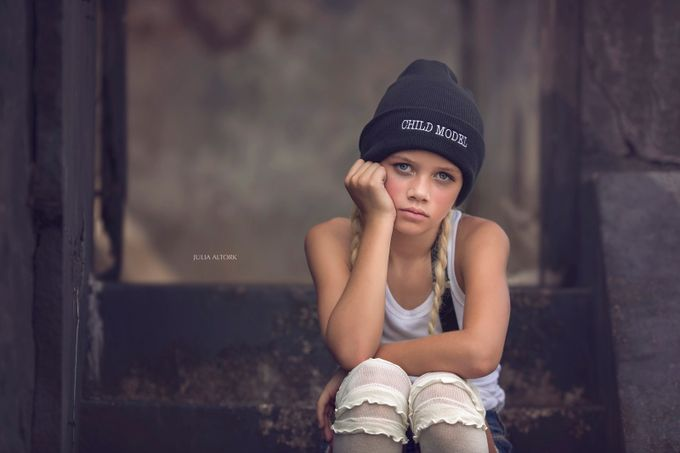 Child Model by JuliaAltork - Letters And Words Photo Contest