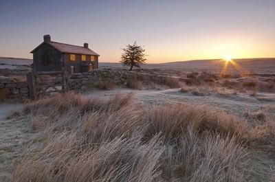 Nuns Cross Winter sunrise, Dartmoor