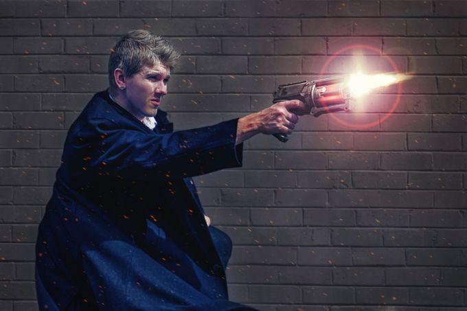 Gunslinger by elyprosser - Science Fiction Photo Contest
