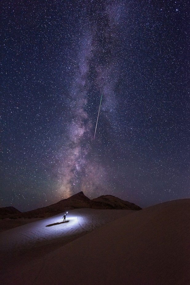 Making a Wish by prajitr - Capture The Milky Way Photo Contest