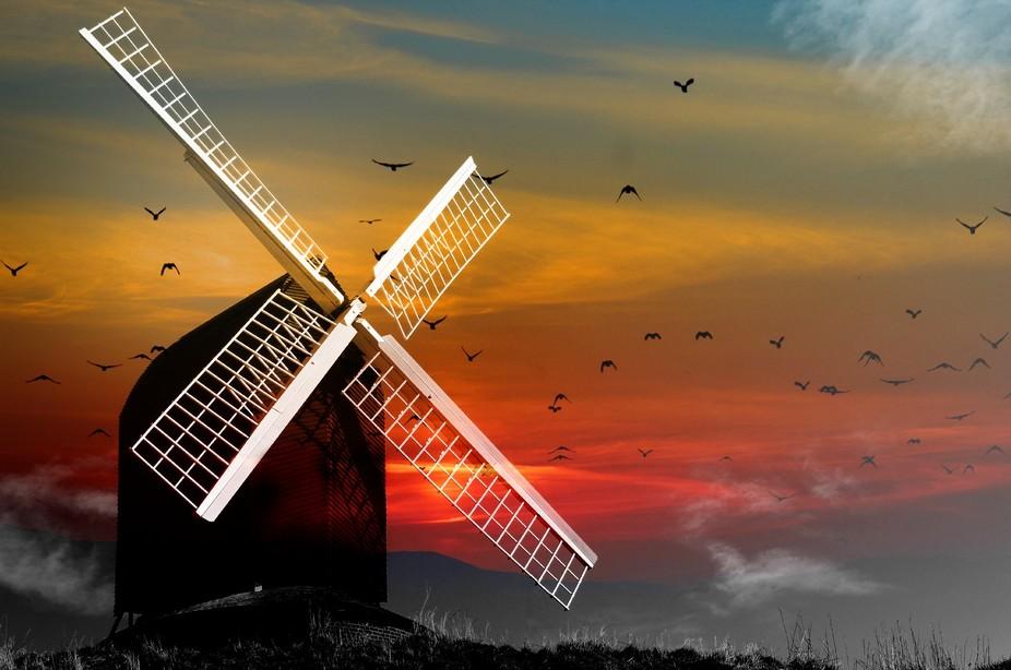 The windmill at Brill
