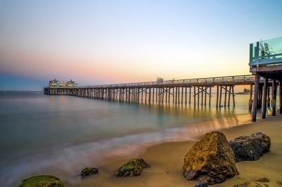 Malibu Pier Sunset