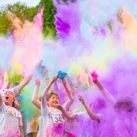 A local Charity Colour run event in aid of bereaved parents. This event was so much fun although i did end up with 2 pink cameras at the end of i...