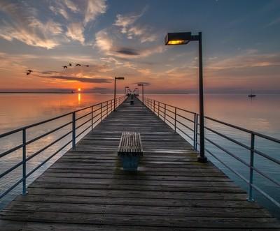 Pier Morning
