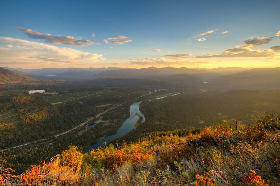 Kootenai Valley in Northwest Montana.
