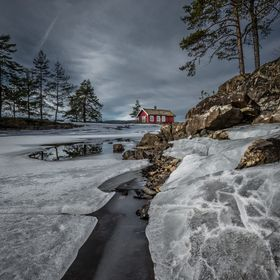 A winter shot from Ringerike, Norway.