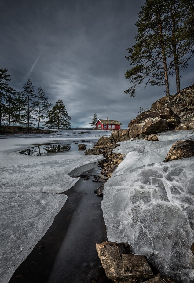Winter Wonderland by peterfoldiak - Isolated Cabins Photo Contest