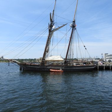 The Amistad docked @ New London, CT