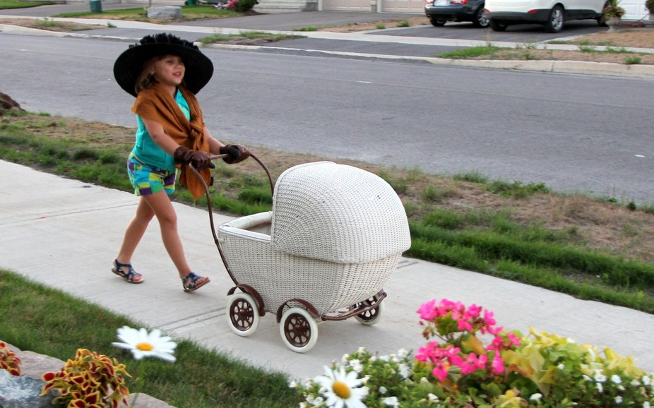 Doll Carriage - Stuck in time