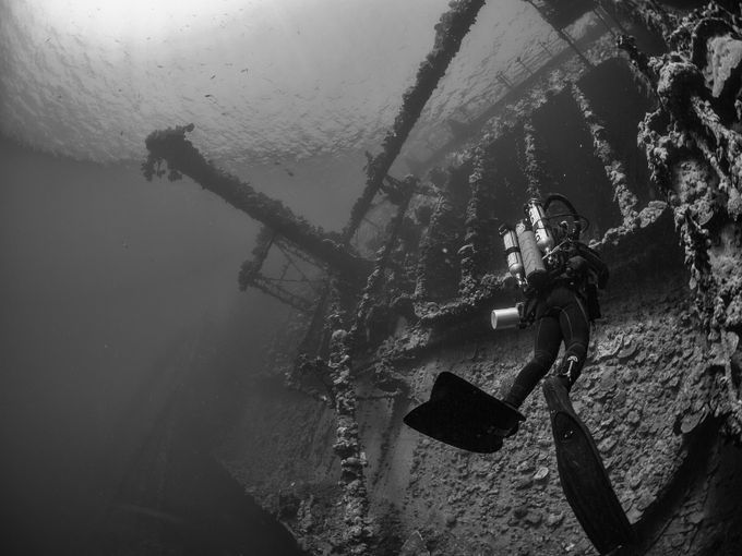 Umbria wreck by longiMANUs - Outdoor Action and Adventure Photo Contest by Focal Press