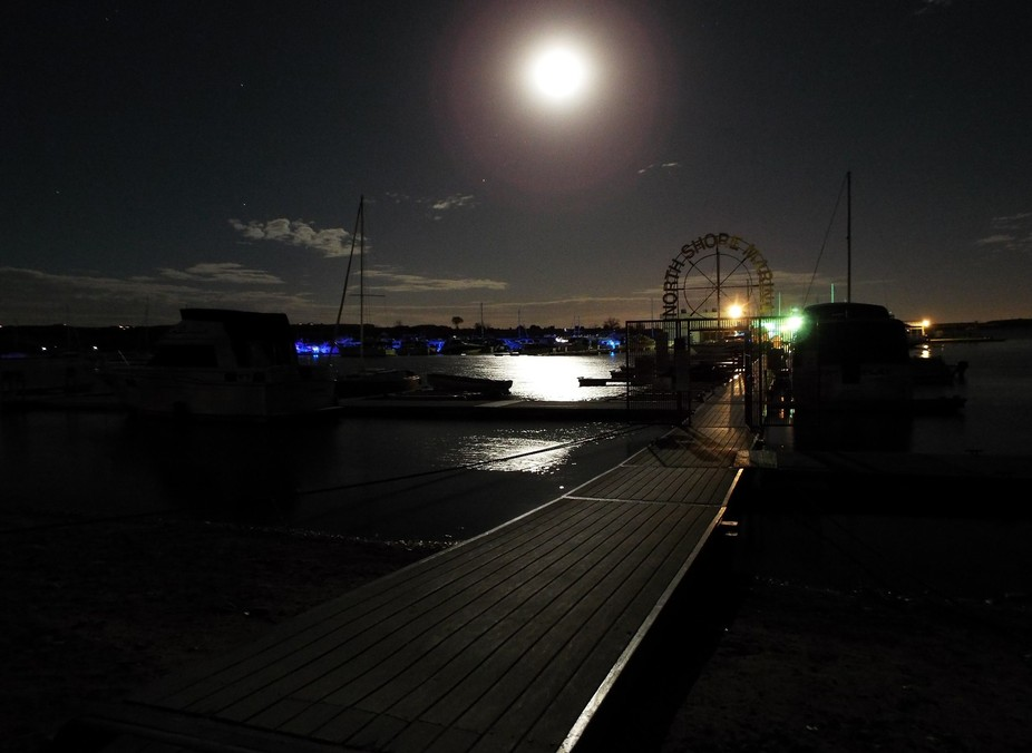 Used in one of my first night shots for a photography book, I realized that the world changes thr...