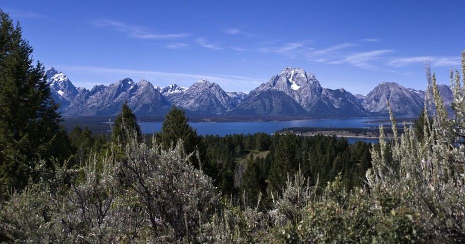Jackson Lake from the Viewpoint