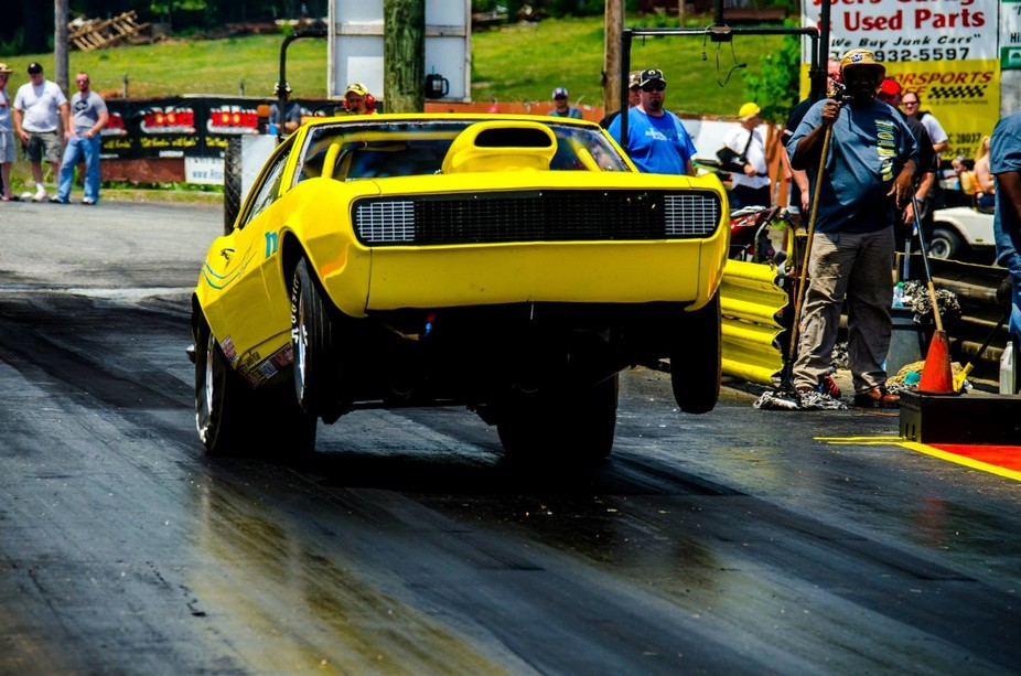 First time shooting some high power drag racing at Mooresville NC