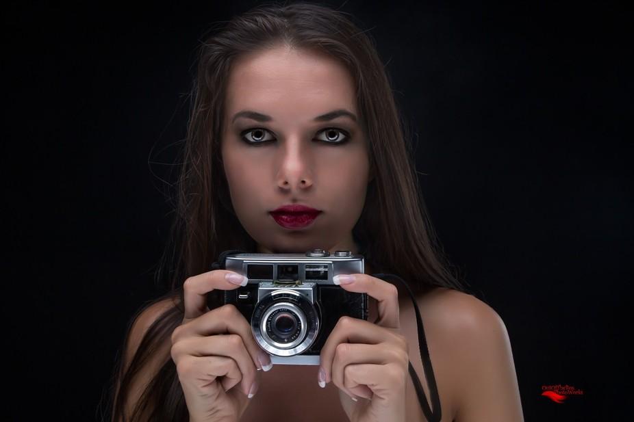 Beautiful Model: Nikola, shot at studio in Phoenix, AZ