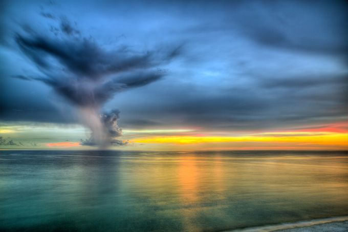 Sunset Over the Gulf of Mexico by michaelstebel - Monthly Pro Vol 17 Photo Contest