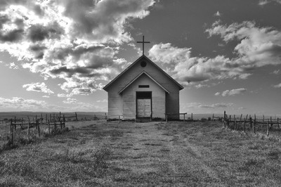Old Church On The Hill