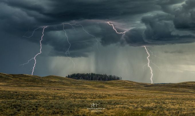 Hayden Lightning Storm by LeightonLum - Unforgettable Landscapes Photo Contest by Zenfolio