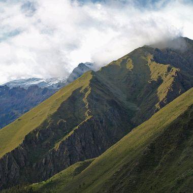 Andes Mts near Machu Picchu