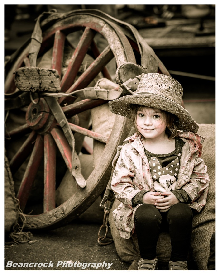 Farm girl by alanpryor - Youngsters Photo Contest