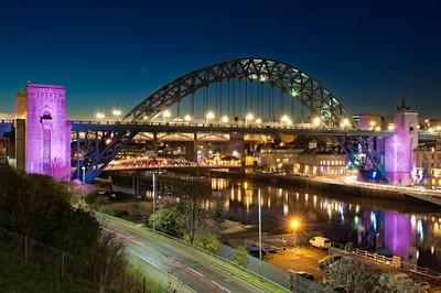 """Tyne at Night"""